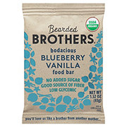 Bearded Brothers Energy Bar, Bodacious Blueberry Vanilla