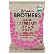 Bearded Brothers Radical Raspberry Lemon Energy Bar