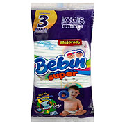 Bebin Super Diapers 3 ct