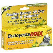 Bedoyecta Max Lemon-Lime Flavor Multivitamin