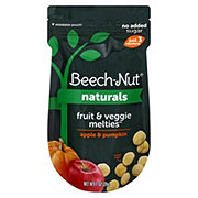 Beech-Nut Fruit And Veggie Melties Apple And Pumpkin