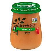 Beech-Nut Naturals Stage 1 Apple Baby Food Jar
