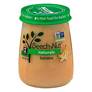 Beech-Nut Naturals Stage 1 Bananas Baby Food Jar