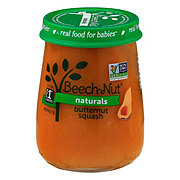 Beech-Nut Naturals Stage 1 Butternut Squash Baby Food Jar