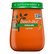 Beech-Nut Naturals Stage 1 Carrots Baby Food Jar