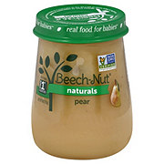 Beech-Nut Naturals Stage 1 Pear Baby Food Jar