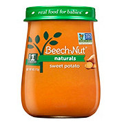 Beech-Nut Naturals Stage 1 Sweet Potato Baby Food Jar
