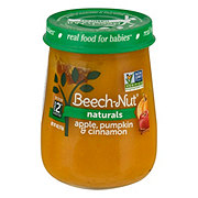 Beech-Nut Naturals Stage 2 Apple Pumpkin & Cinnamon Baby Food Jar