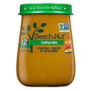 Beech-Nut Naturals Stage 2 Mango Apple & Avocado Baby Food Jar