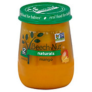 Beech-Nut Naturals Stage 2 Mango Baby Food Jar