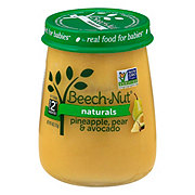 Beech-Nut Naturals Stage 2 Pineapple Pear & Avocado Baby Food Jar