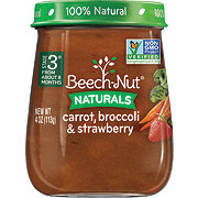 Beech-Nut Naturals Stage 3 Carrot, Broccoli & Strawberry