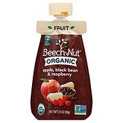 Beech-Nut Organic Coldpurée Apple Black Bean And Raspberry