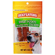 Beefeaters Sweet Potato Wrapped with Chicken Dog Treats