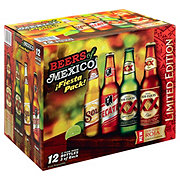 Beers of Mexico Variety Pack Beer 12 oz Bottles