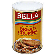 Bella Italian Style Bread Crumbs With Imported Romano Cheese