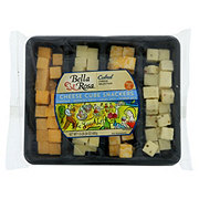 Bella Rosa Cheese Cubes Snackers Tray