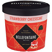 Bellefontaine Strawberry Cheesecake Ice Cream