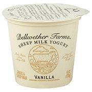 Bellwether Farms Vanilla Sheep Milk Yogurt