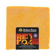 Belton Farm's Red Fox Leicester Cheese