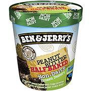 Ben & Jerry's Peanut Butter Half Baked Non-Dairy Frozen Vegan Dessert