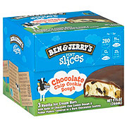 Ben & Jerry's Pint Slices Chocolate Chip Cookie Dough