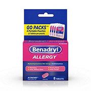 Benadryl Allergy Ultratabs Tablets Go Packs