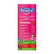 Benadryl Children's 12.5 ml/5 ml Oral Solution Cherry Flavored Liquid Allergy