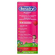 Benadryl Children's Allergy Liquid