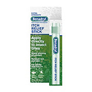 Benadryl Topical Analgesic Extra Strength Itch Relief Stick