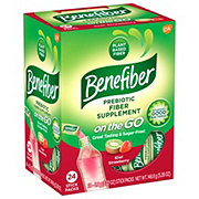 Benefiber Fiber Kiwi-Strawberry Stick Pack