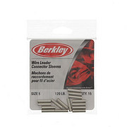 Berkley Nickel Wire Leader Connector Sleeves #B5
