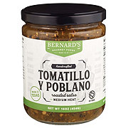 Bernard's Gourmet Foods Tomatillo Y Poblano Roasted Salsa