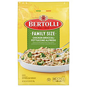 Bertolli Family Size Chicken Broccoli Fettuccine Alfredo