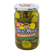 Best Maid Fresh Pack Hamburger Slices With Sea Salt
