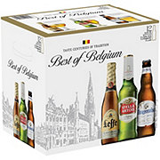 Best of Belgium Variety Pack Beer 12 oz Bottles
