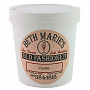 Beth Marie's Old Fashioned Vanilla Ice Cream