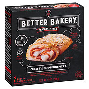 Better Bakery Pretzel Melts Cheese And Pepperoni