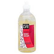 Better Life Dish Soap Pomegranate