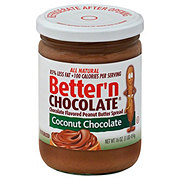 Better'n Coconut Chocolate Peanut Butter Spread