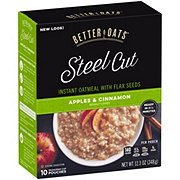 Better Oats Flax Apple & Cinnamon Steel Cut Oats