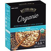 Better Oats Organic Bare Instant Hot Cereal