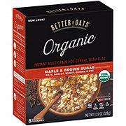 Better Oats Organic Maple and Brown Sugar
