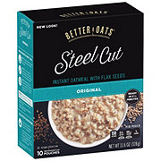Better Oats Steel Cut Original Instant Oatmeal
