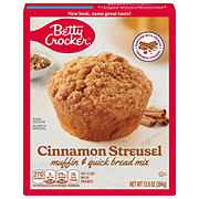 Betty Crocker Cinnamon Streusel Premium Muffin and Quick Bread Mix