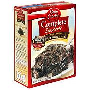 Betty Crocker Complete Desserts Triple Chocolate Hot Fudge Cake