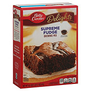 Betty Crocker Delights Supreme Fudge Brownie Mix