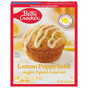 Betty Crocker Lemon Poppy Seed Muffin & Quick Bread Mix