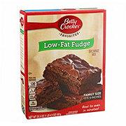 Betty Crocker Low Fat Fudge Brownie Mix