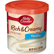 Betty Crocker Rich & Creamy Vanilla Frosting